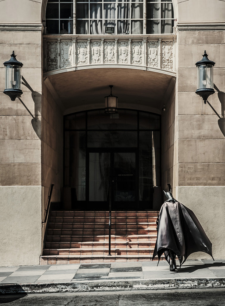 Batman (aka Marty), Hotel Roosevelt, Hollywood