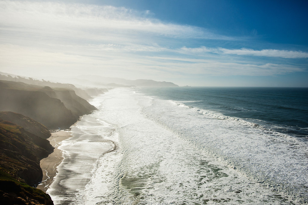 View towards Pacifica, CA