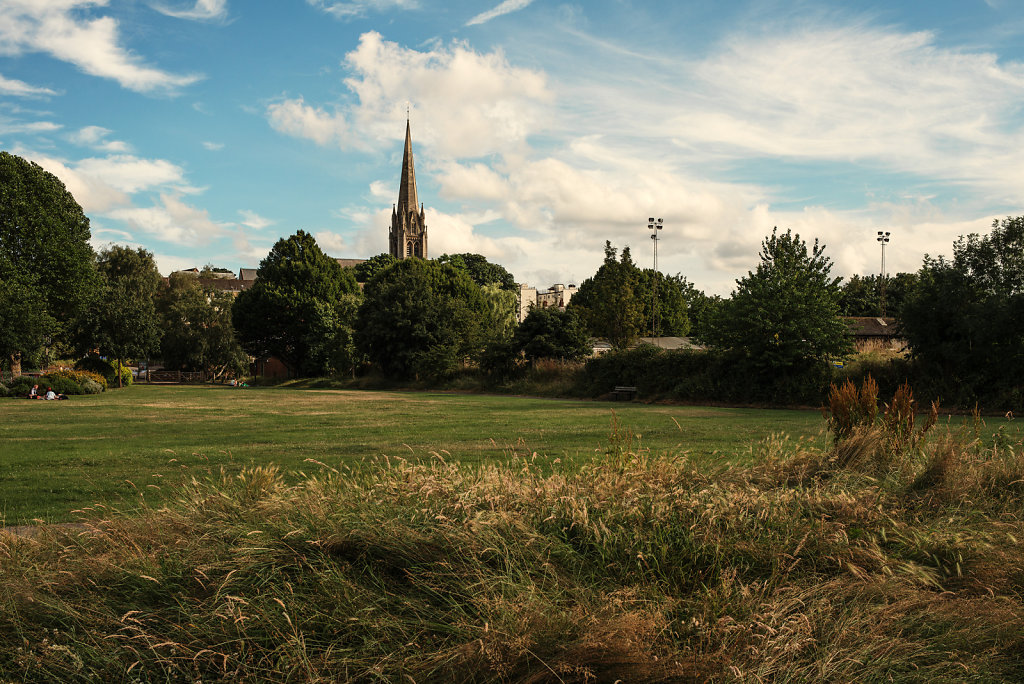 St Martins from Meadowbank
