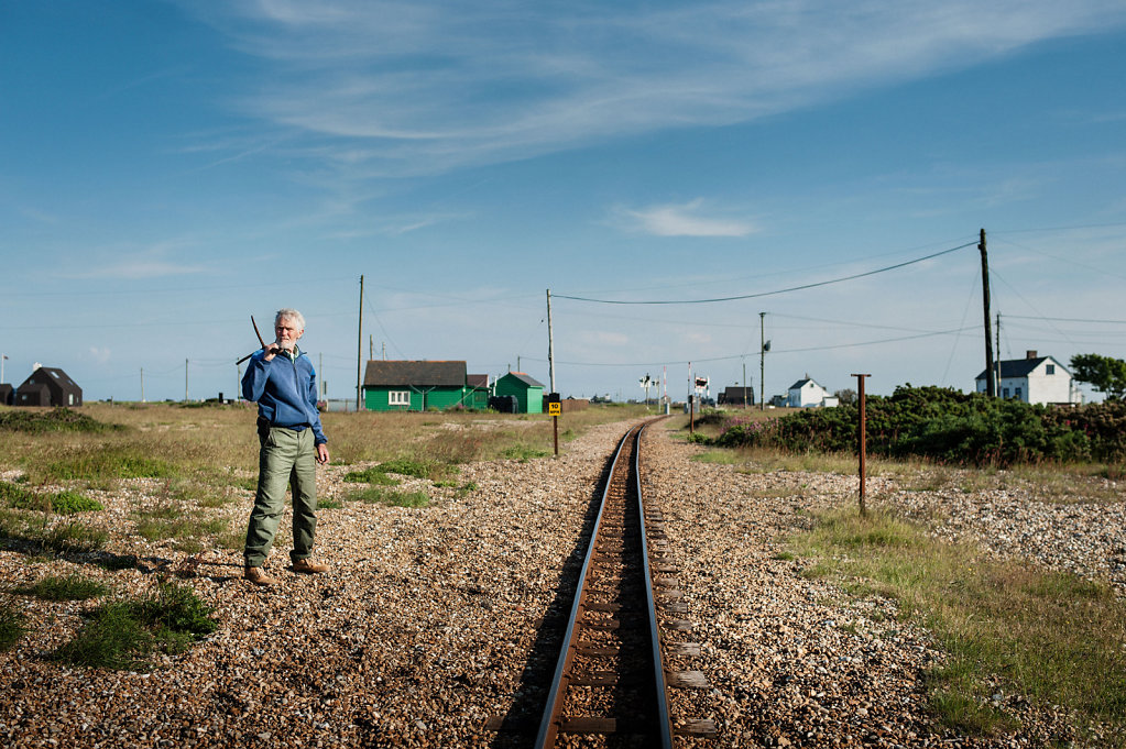 Jim Tucker, Sculptor, Dungeness